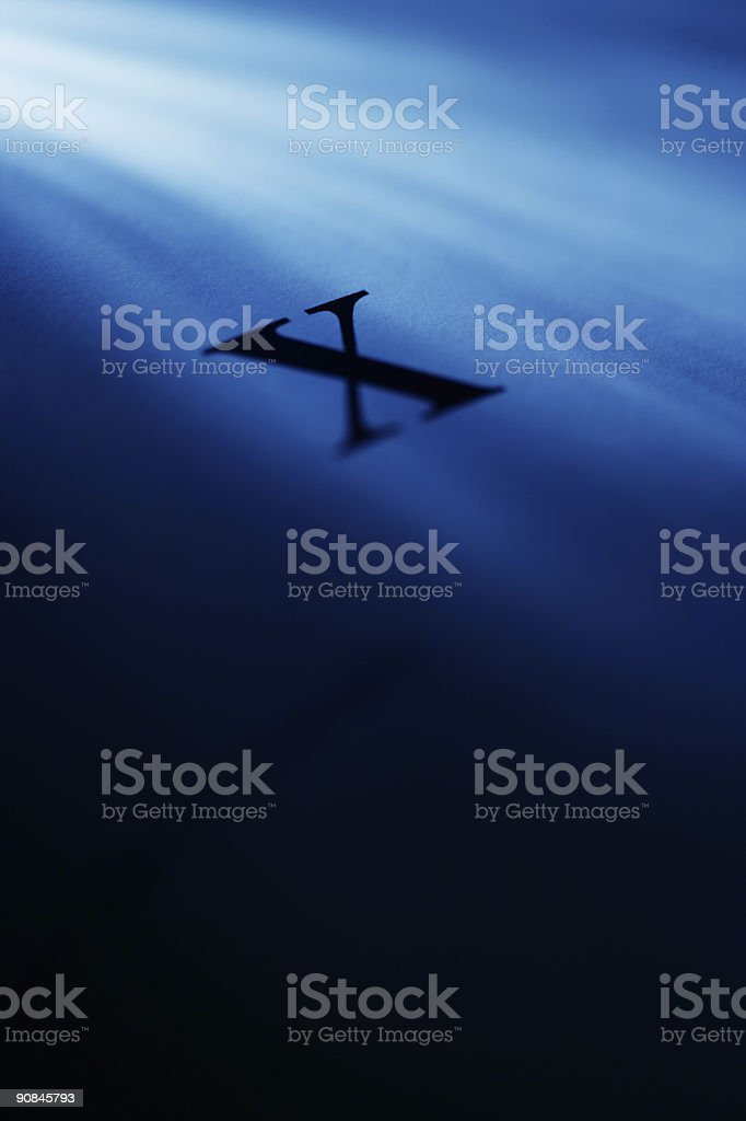 X files royalty-free stock photo