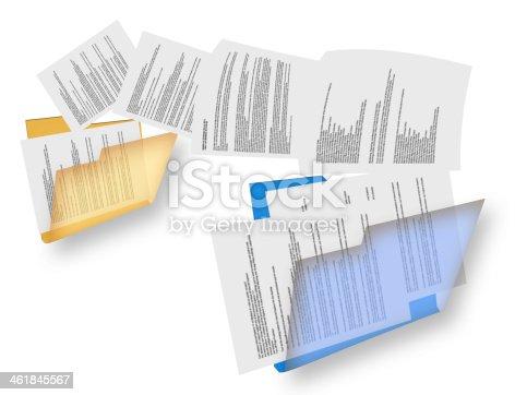 462138083istockphoto Files transfer concept 461845567