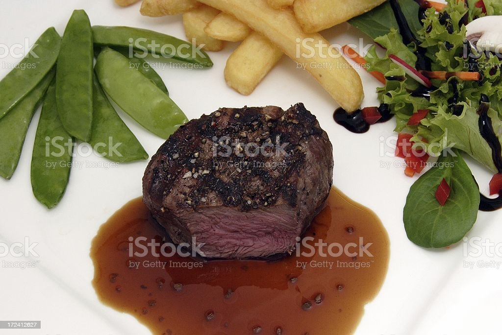 Filet Beef royalty-free stock photo