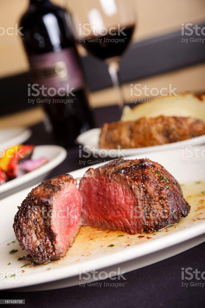 Filet Mignon Steak royalty-free stock photo