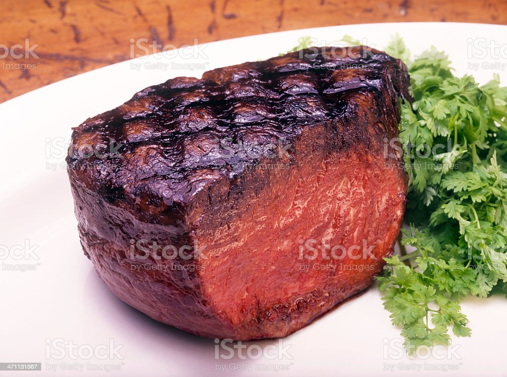 Filet Mignon Steak stock photo
