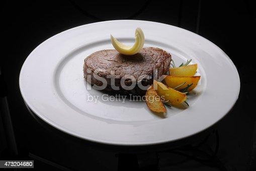 filetto di manzo con patate