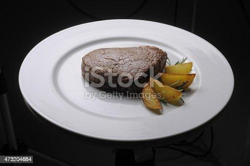 filetto di manzo con pattate