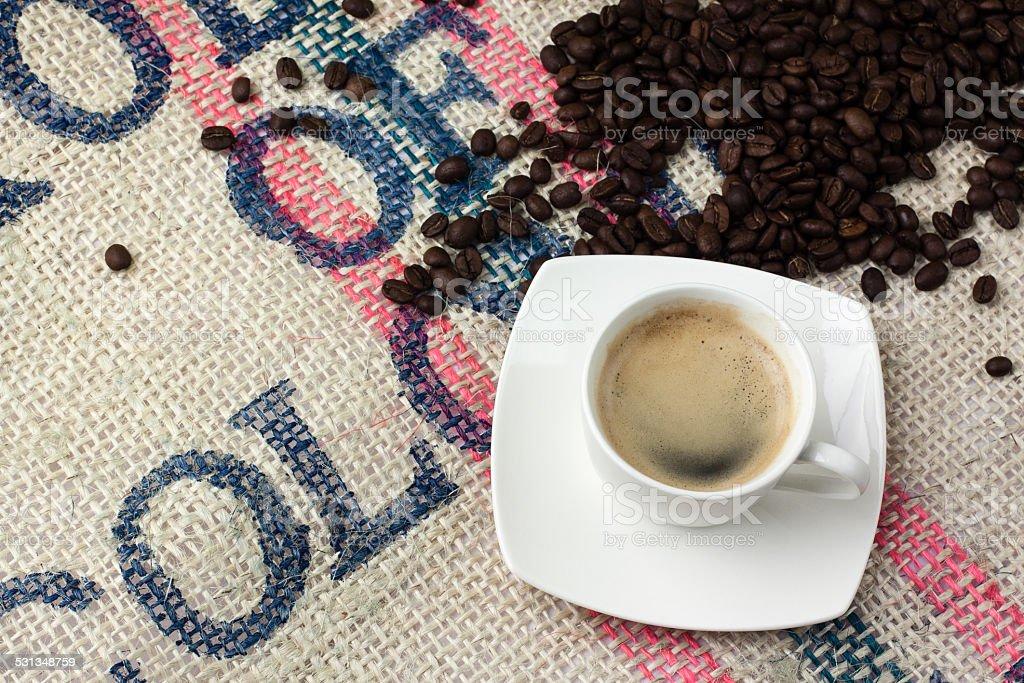 filiżanka kawy stock photo