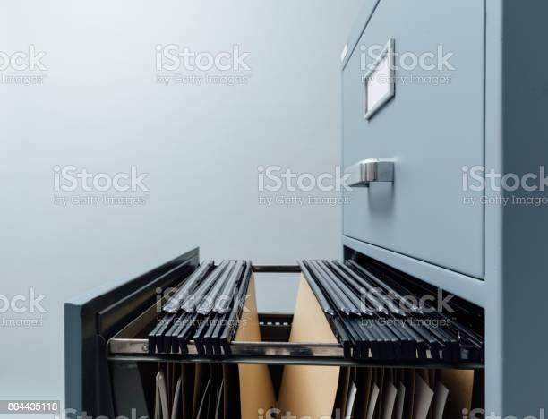 Aktenschrank Und Dateien Stockfoto und mehr Bilder von Aktenschrank