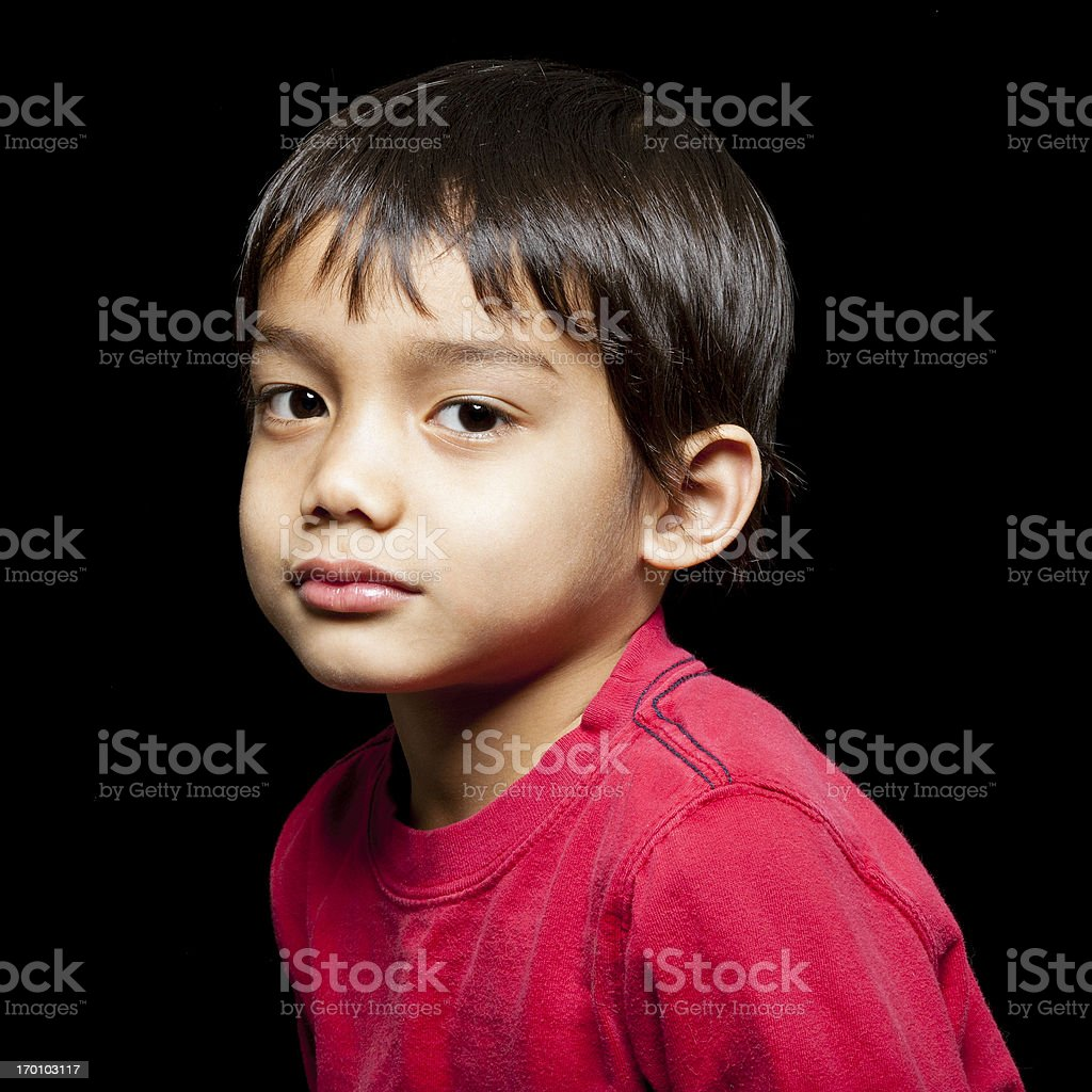 Filipino Boy royalty-free stock photo