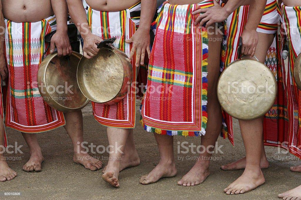Filipino festival royalty-free stock photo
