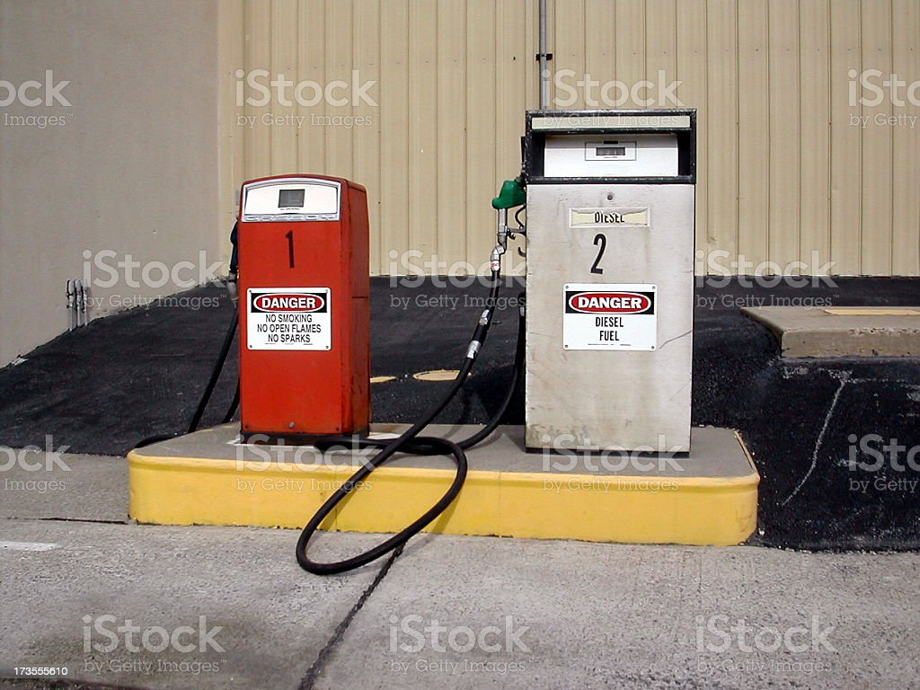 fill er' up royalty-free stock photo