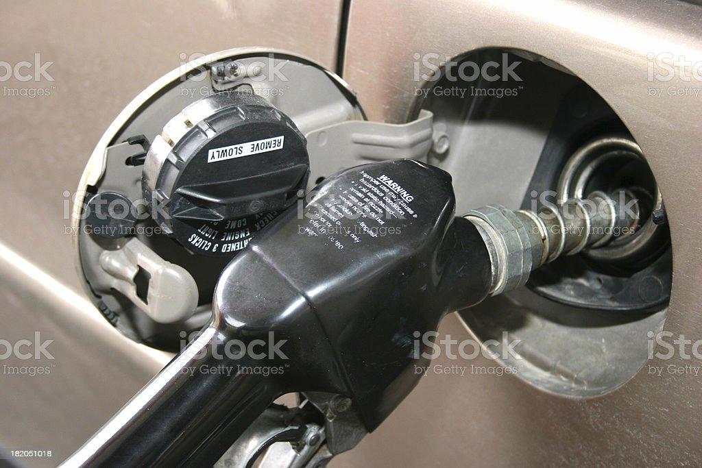 Fill 'Er Up! stock photo