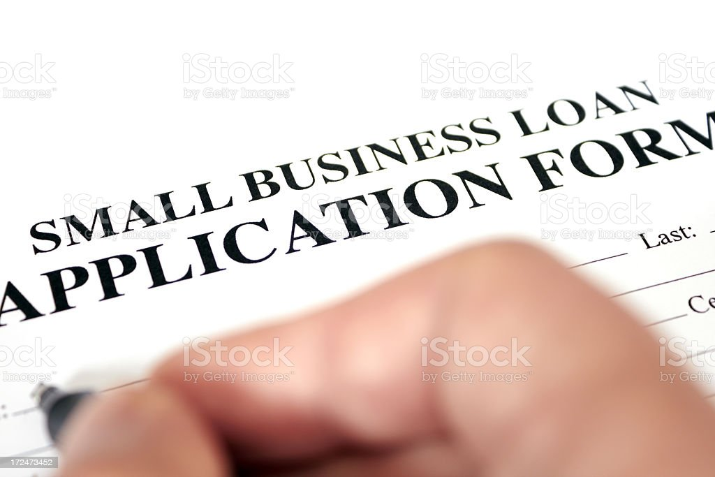 Fill in the loan royalty-free stock photo