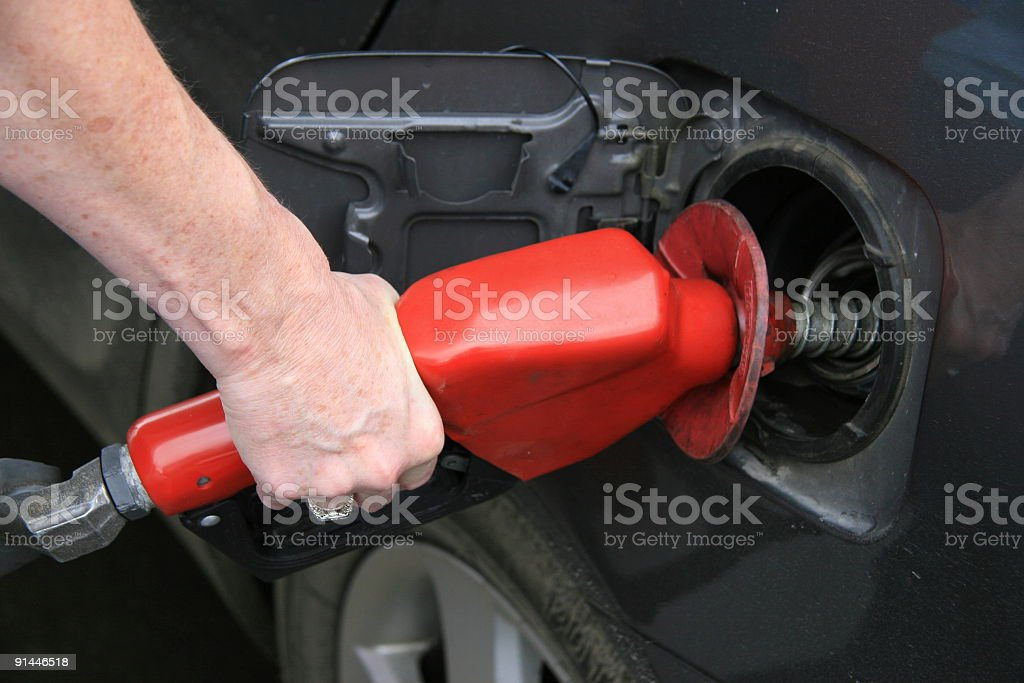 Fill It Up stock photo