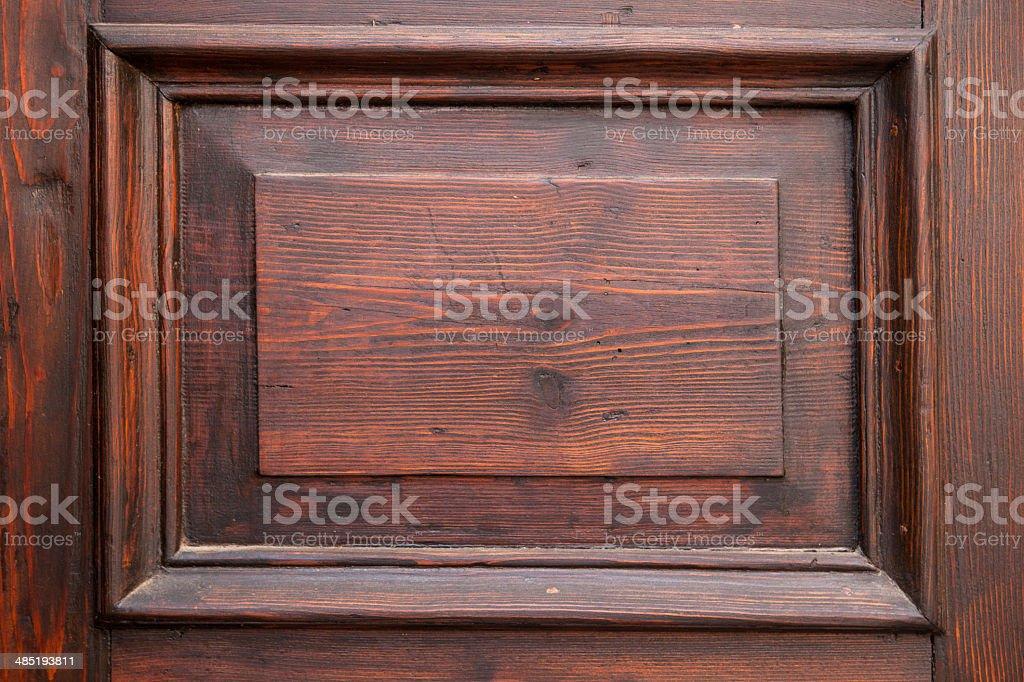 Fill Wooden door - texture, royalty-free stock photo