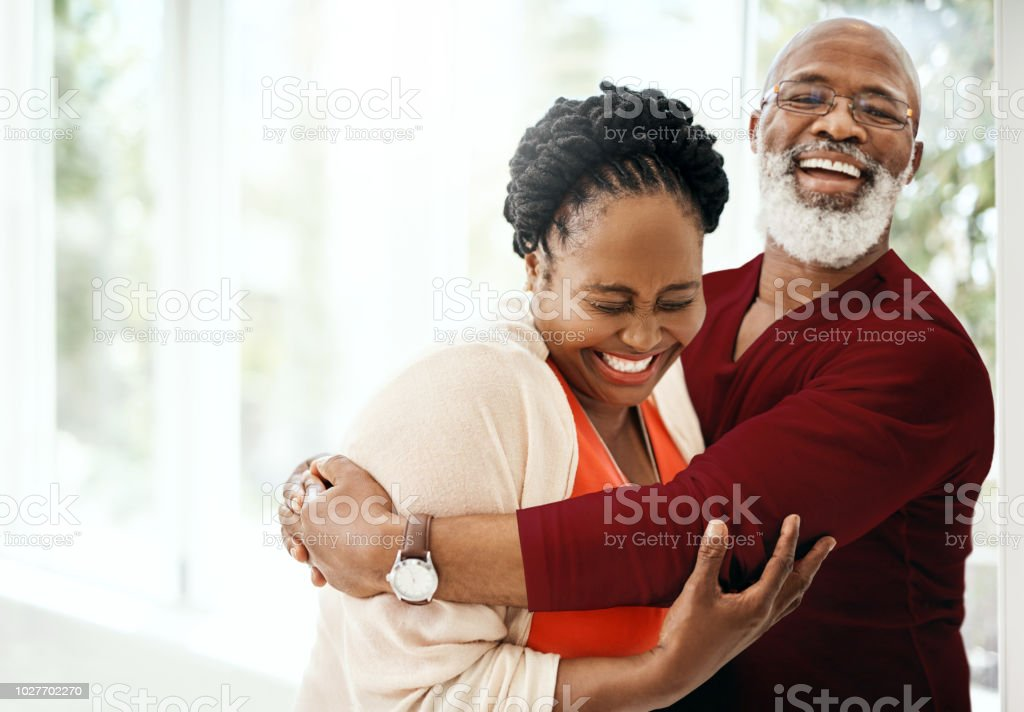 Fill your marriage with a lot of laughter stock photo