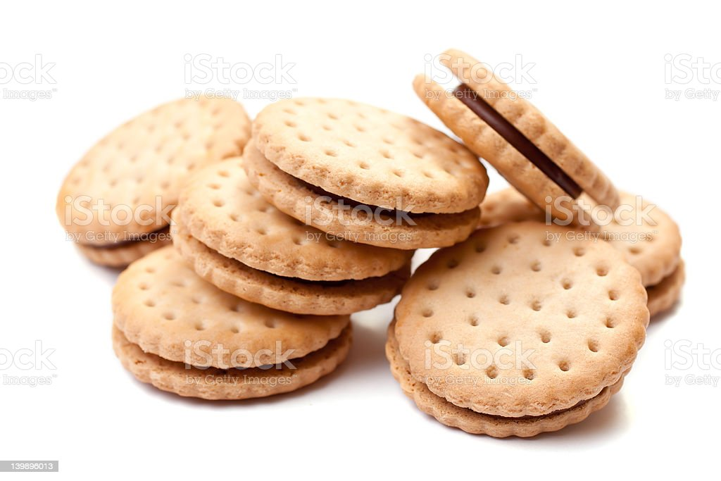 Filled Biscuits royalty-free stock photo