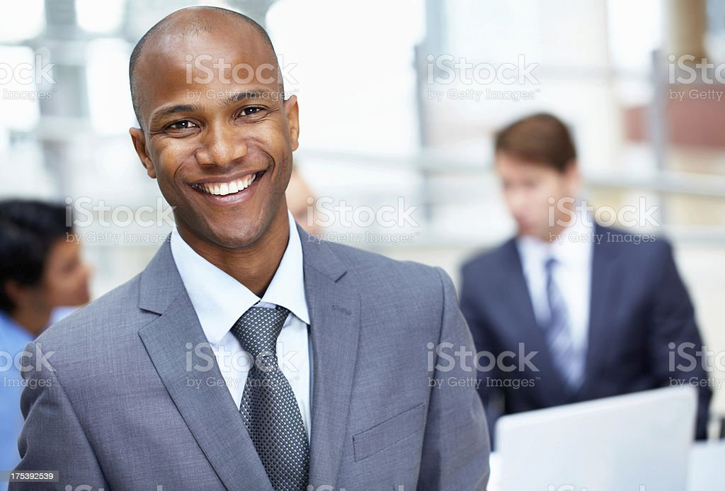 Filled with confidence and ready to succeed royalty-free stock photo