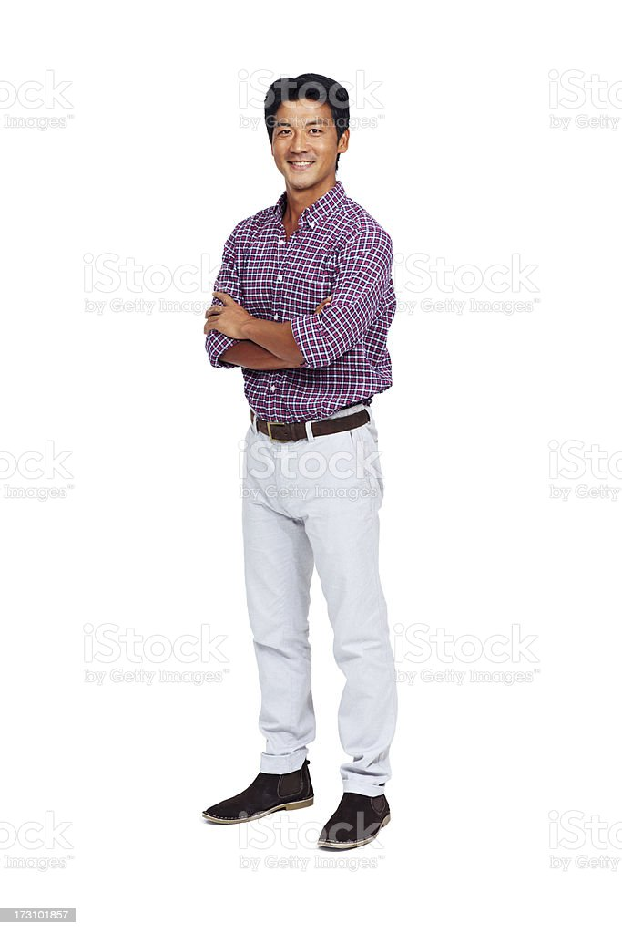 Filled with positivity stock photo