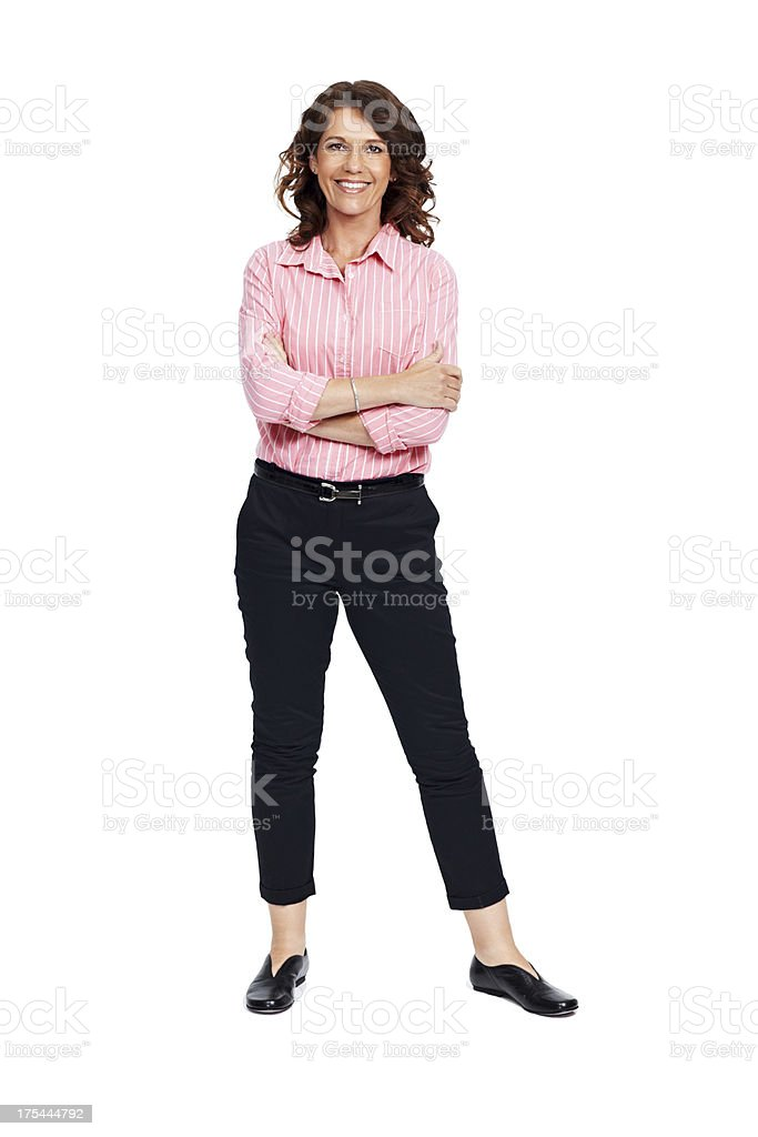 Filled with vitality and zest for life stock photo