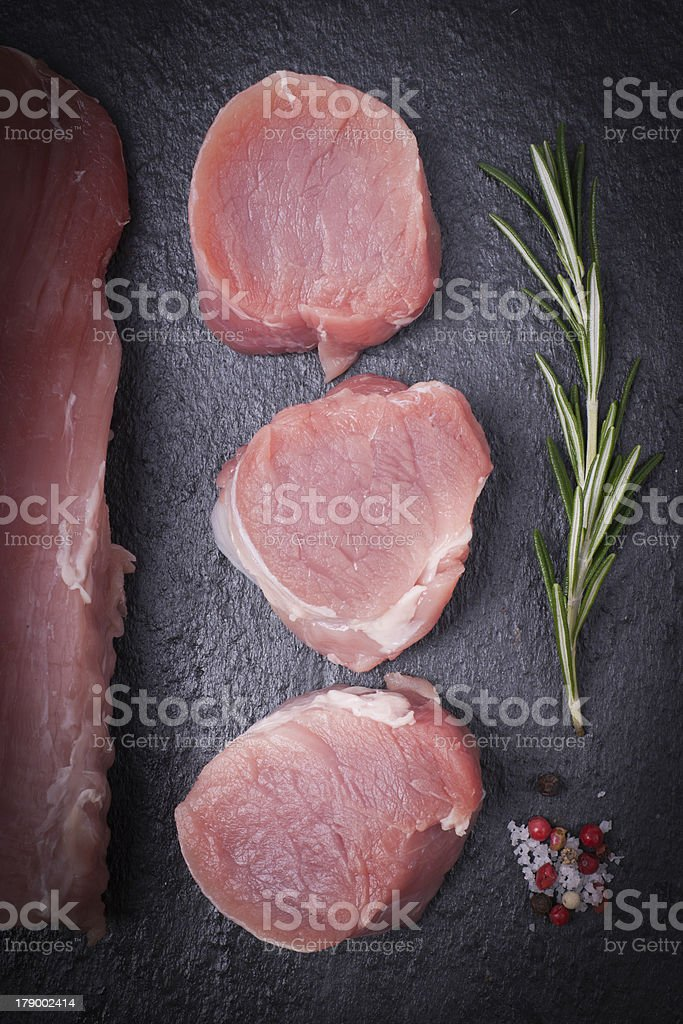 Fillet of pork royalty-free stock photo