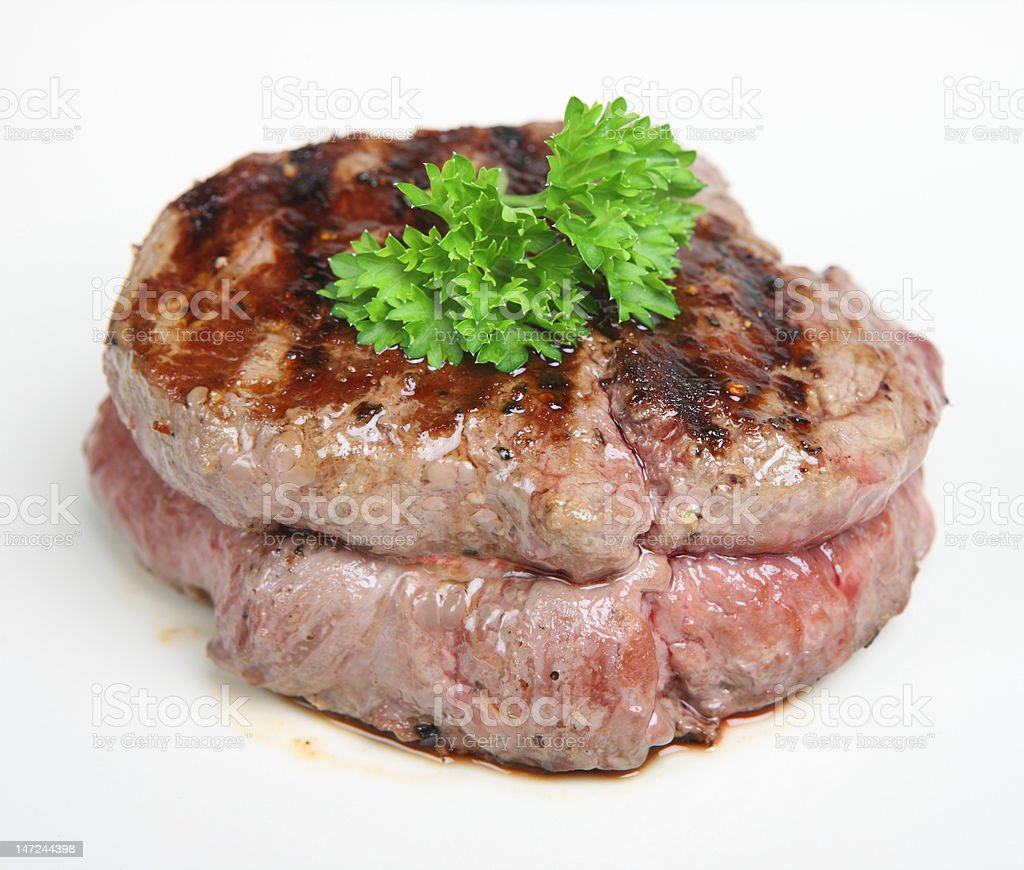 Fillet Steak royalty-free stock photo