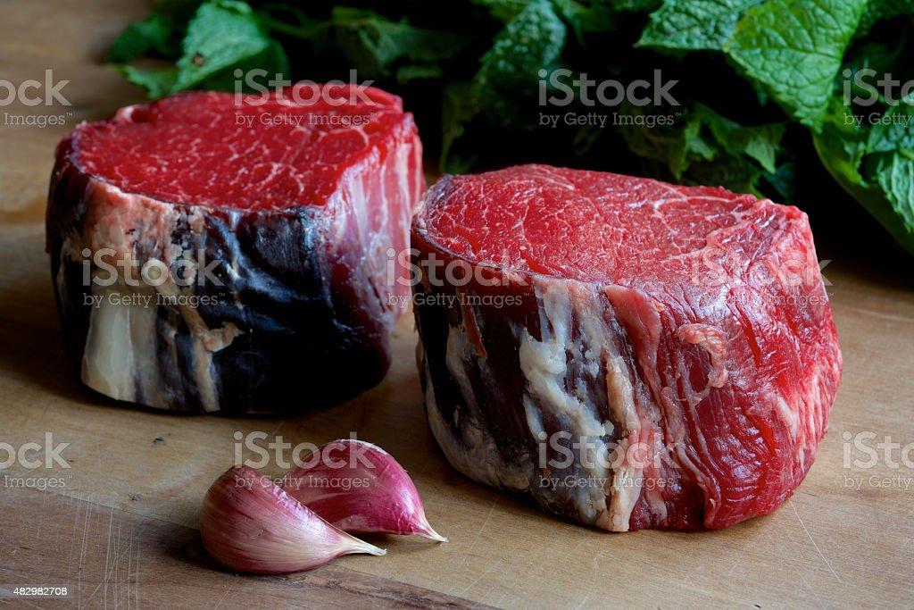 Fillet Steak stock photo