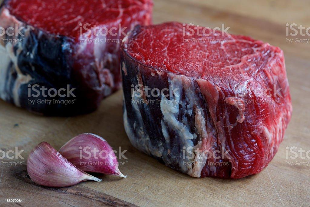 Fillet Steaks stock photo