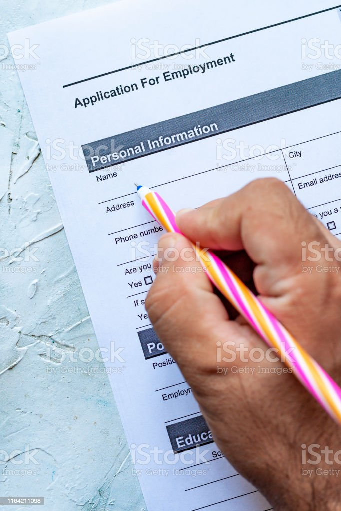 Free Employment Application Template Download from media.istockphoto.com