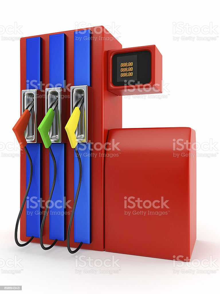 filling station royalty-free stock photo