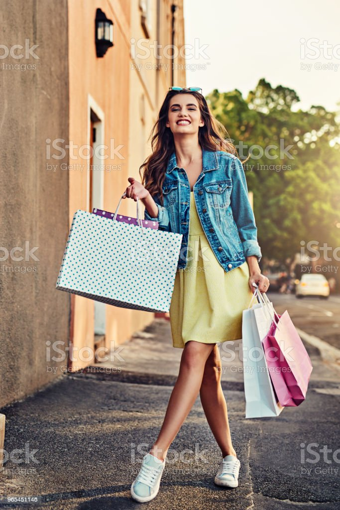 Filling up my closet royalty-free stock photo