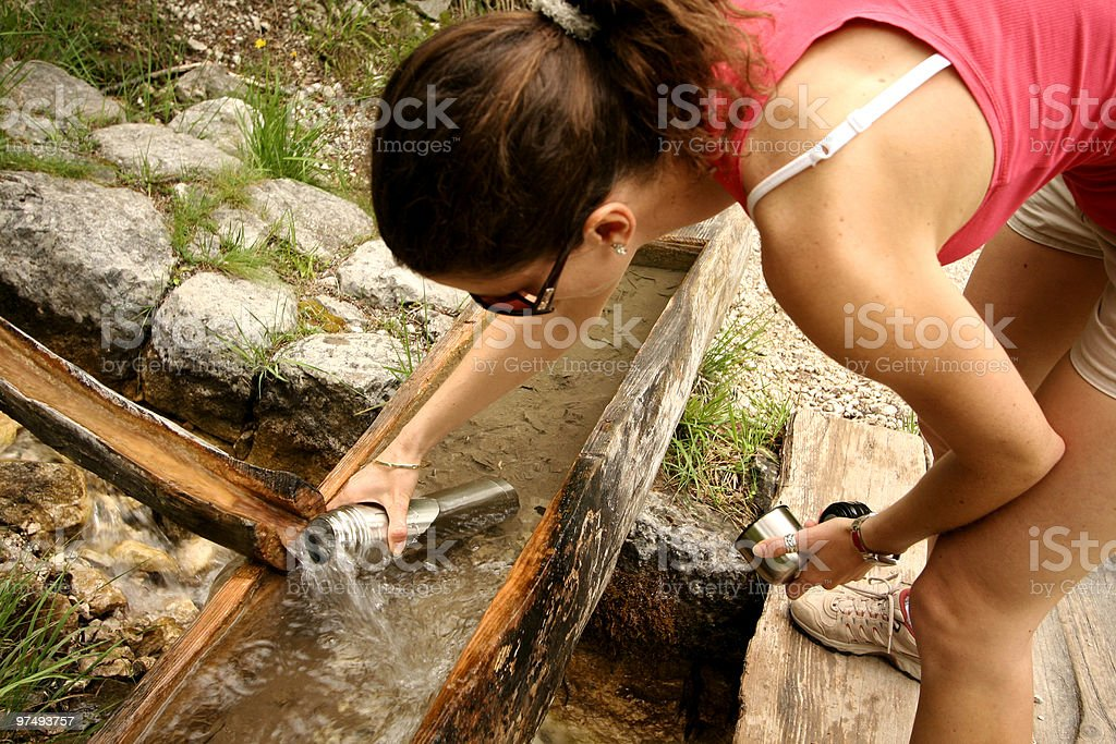 filling up the stocks royalty-free stock photo