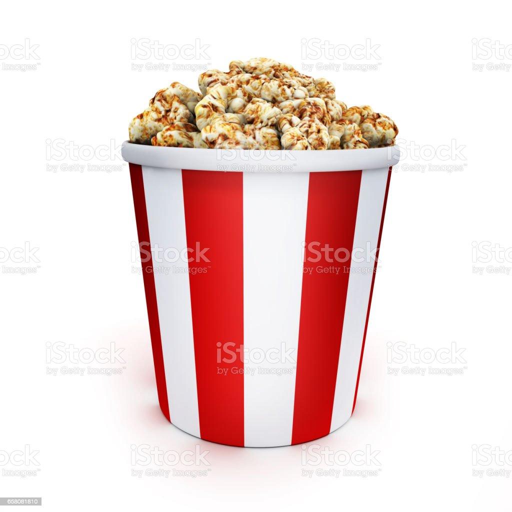 Film and popcorn royalty-free stock photo