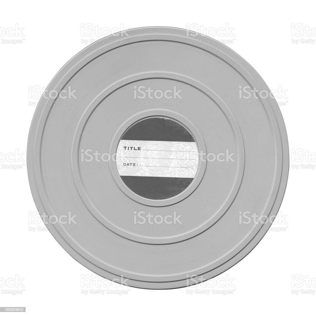 Film Can royalty-free stock photo