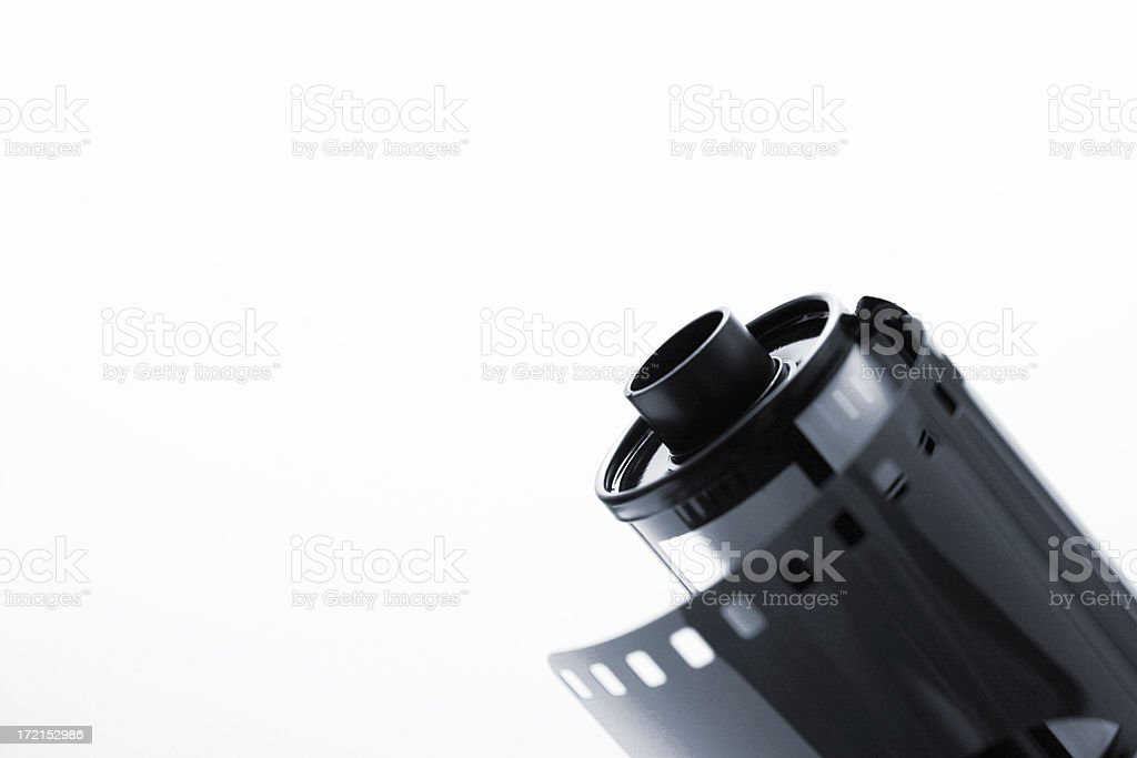Film canister royalty-free stock photo
