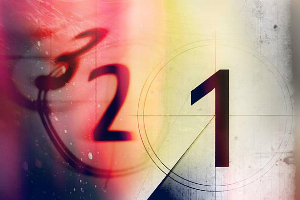 film countdown 3 2 1 - 卡通 個照片及圖片檔