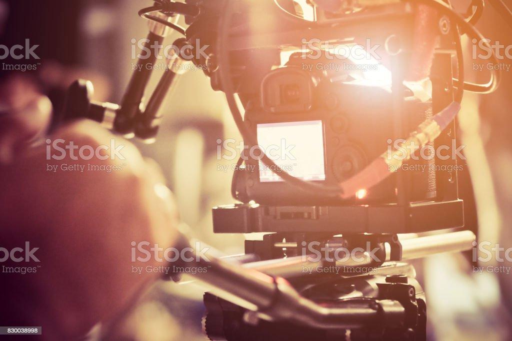 Film Crew. royalty-free stock photo
