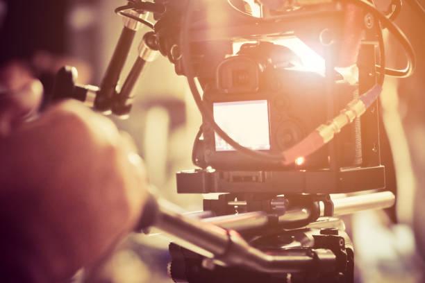 Film Crew. stock photo