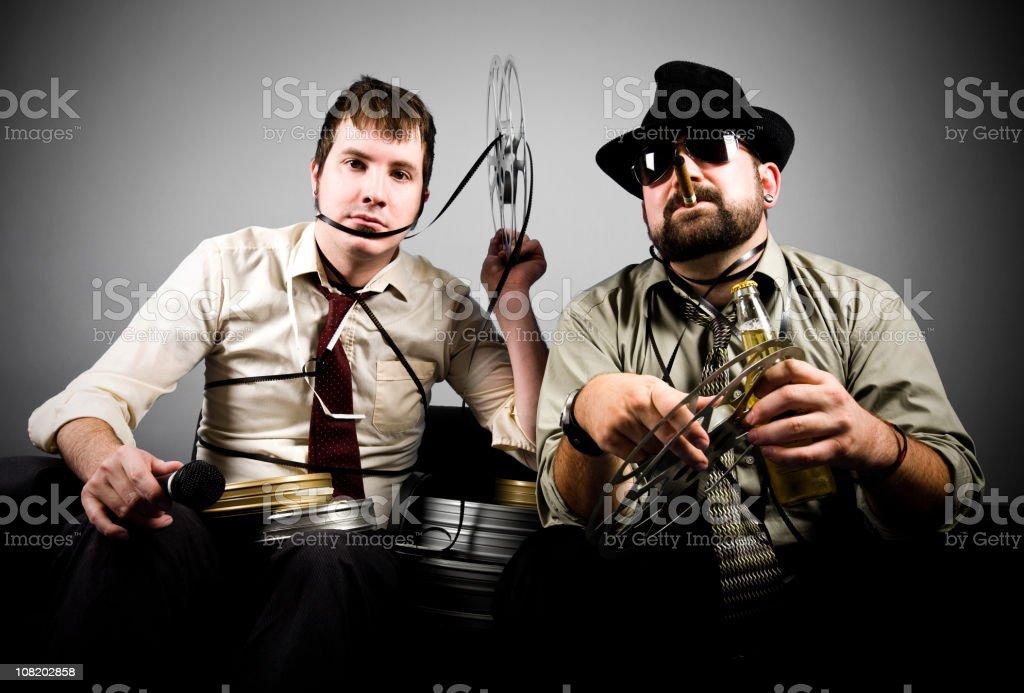 Film Critics stock photo