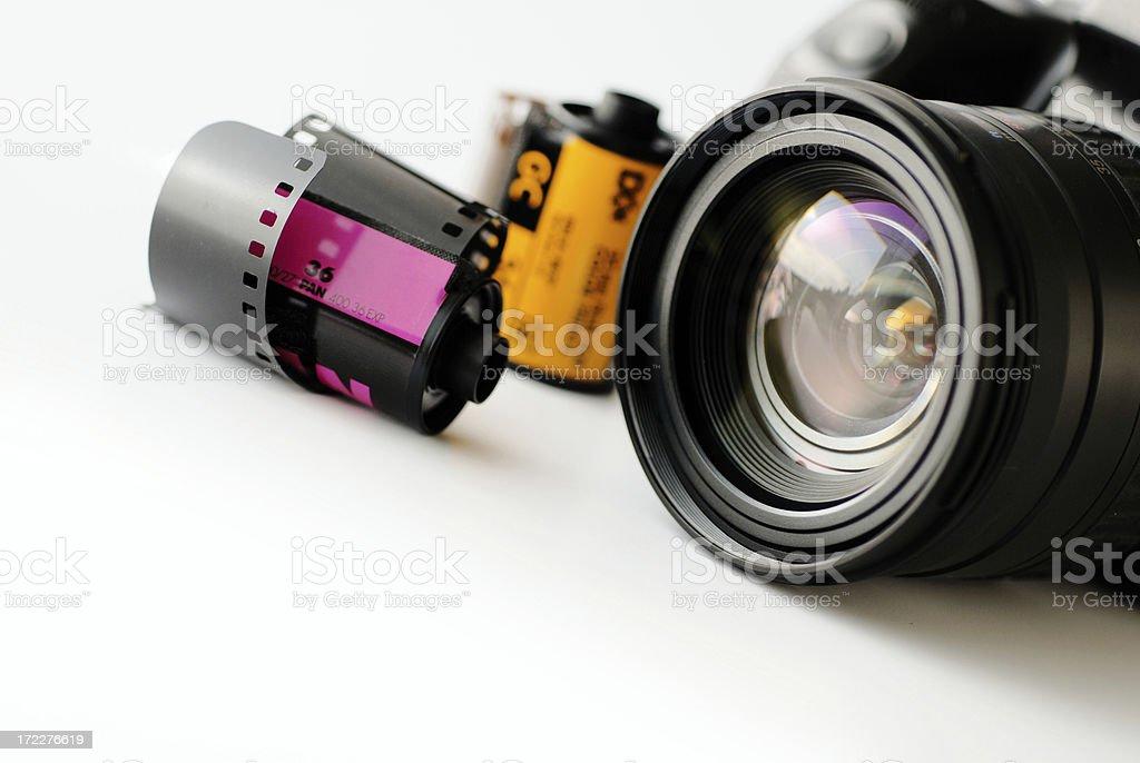 Film equipment royalty-free stock photo