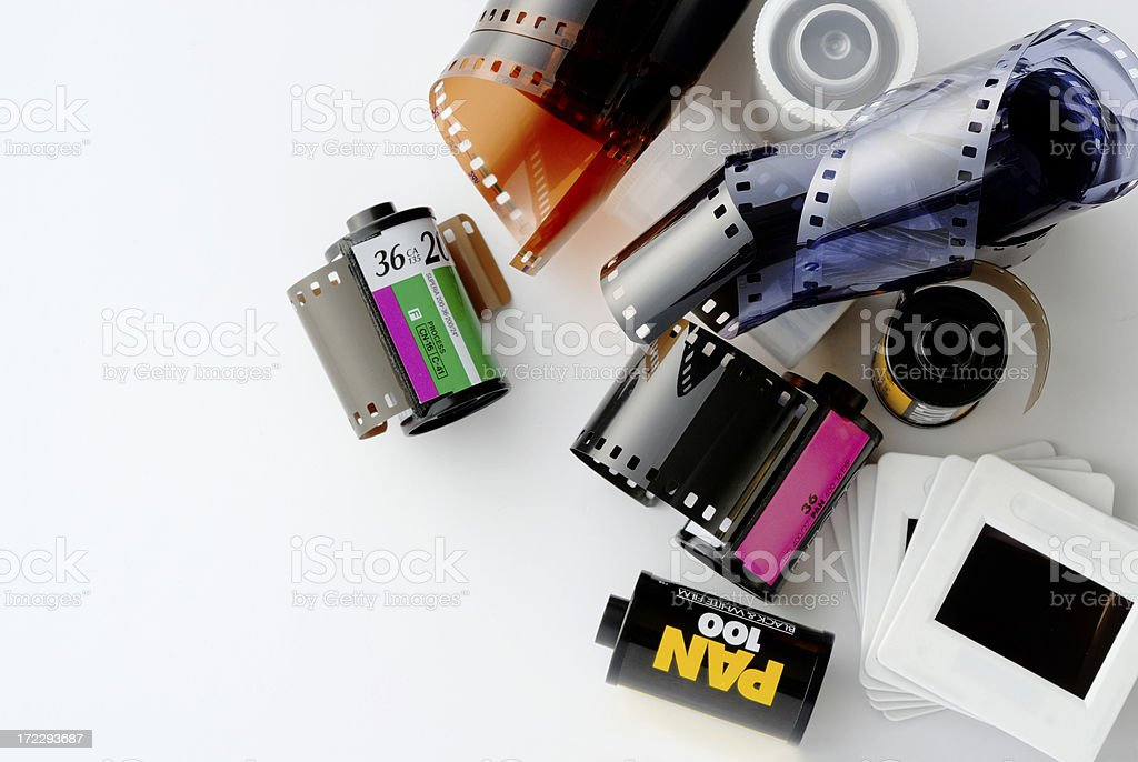 Film equipment stock photo