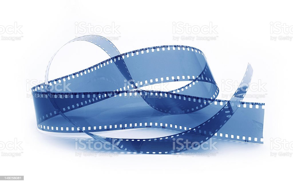 film for my camera blue royalty-free stock photo