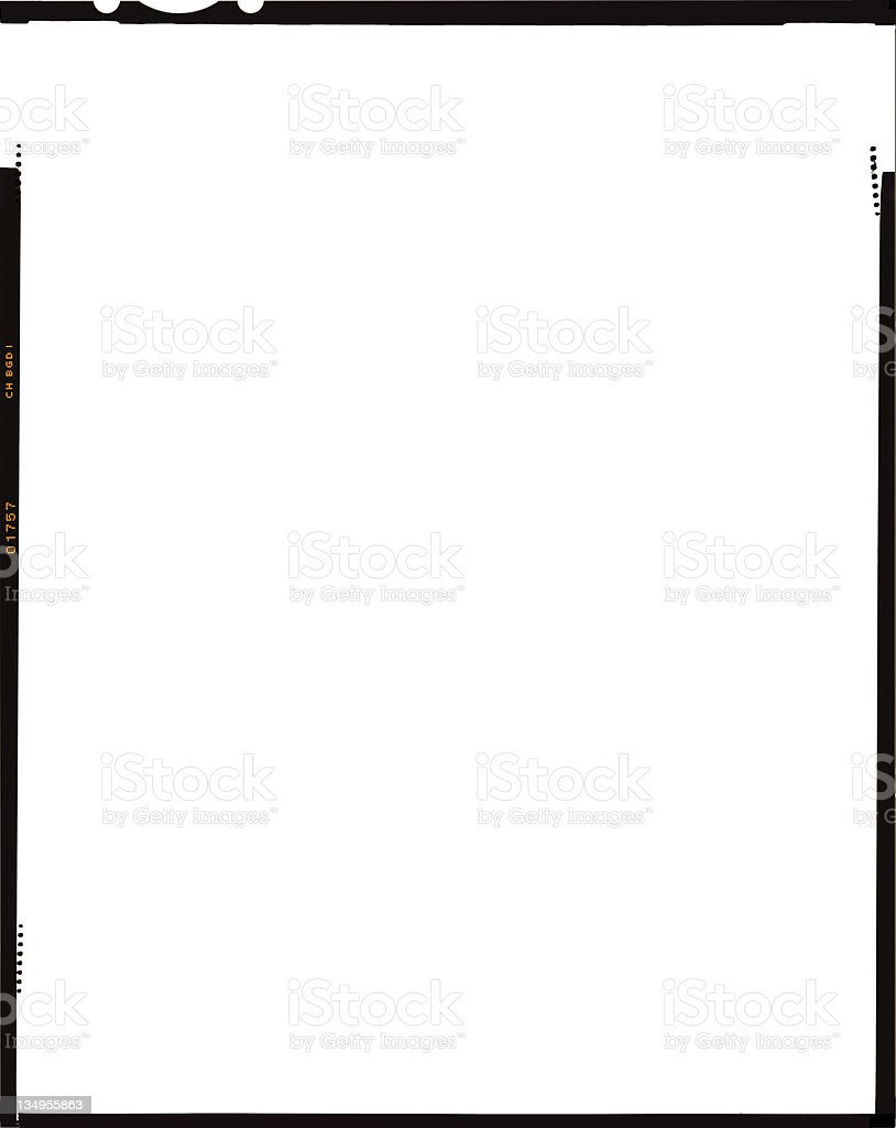 Film Frame 4x5 Stock Photo & More Pictures of Black Color | iStock