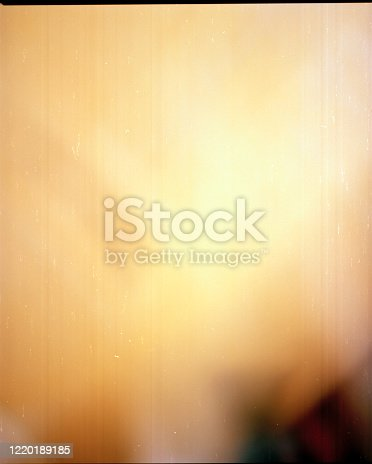 istock Film frame with texture and light burn 1220189185