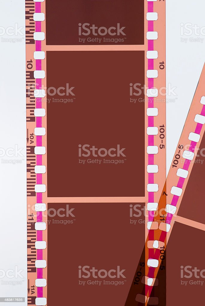 Film Negative Positive Strip 35mm Background Frame Series Stock ...