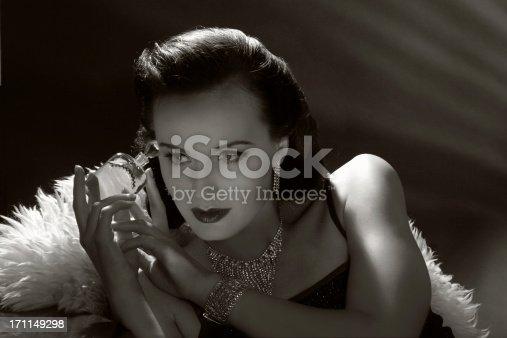istock Film Noir Style.Forbidden fruit 171149298