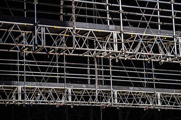 Film Production & Photographic Stage Rigging Film Production & Photographic Rigging rigging stock pictures, royalty-free photos & images