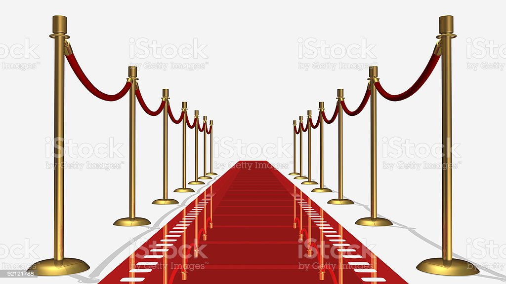 Film Red Carpet royalty-free stock photo