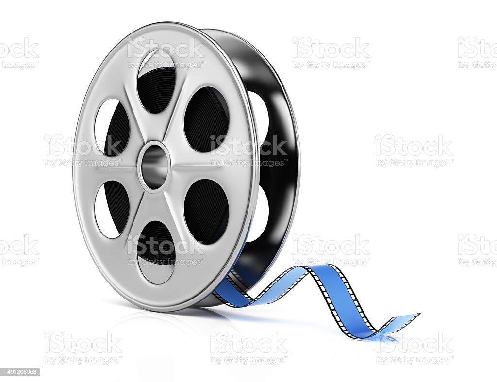 Film reel royalty-free stock photo