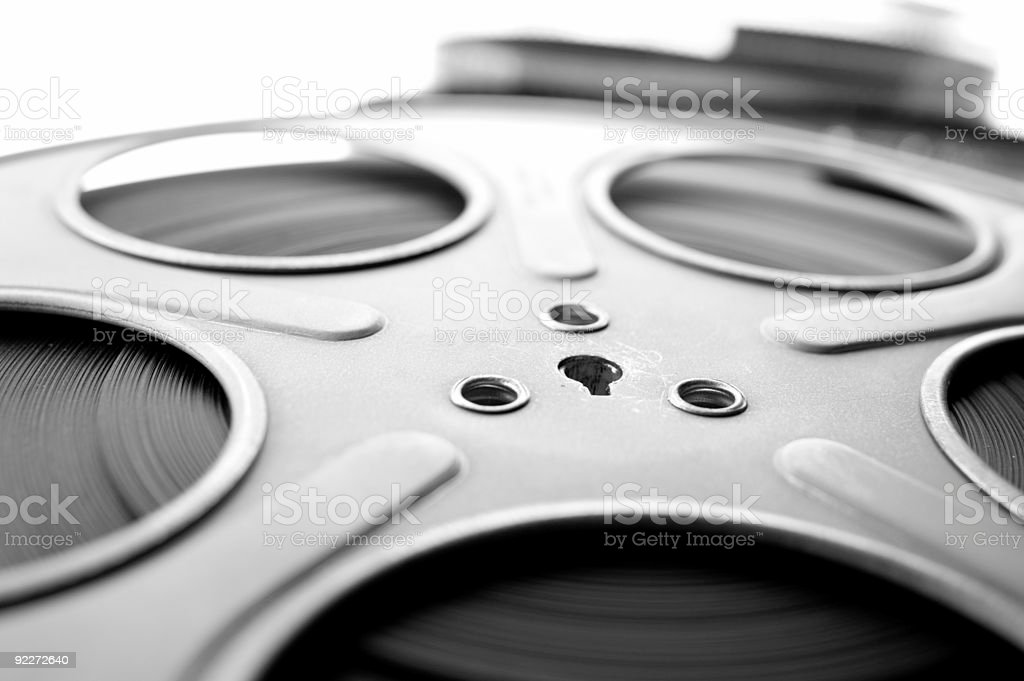 Film Reel - Shallow DOF royalty-free stock photo