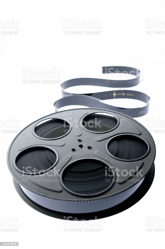 Film Reel - Unraveled 2 royalty-free stock photo