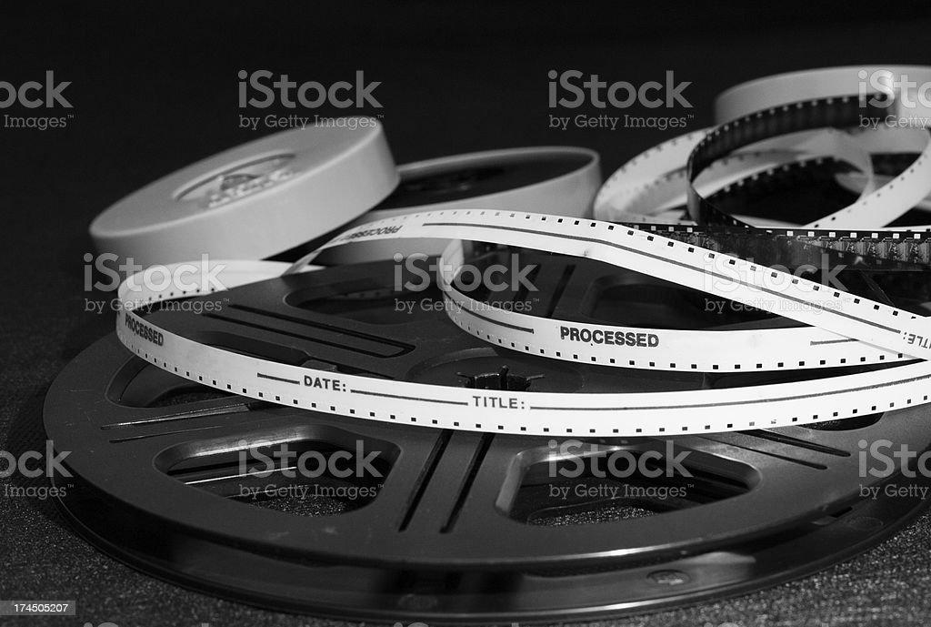 Film reels stock photo