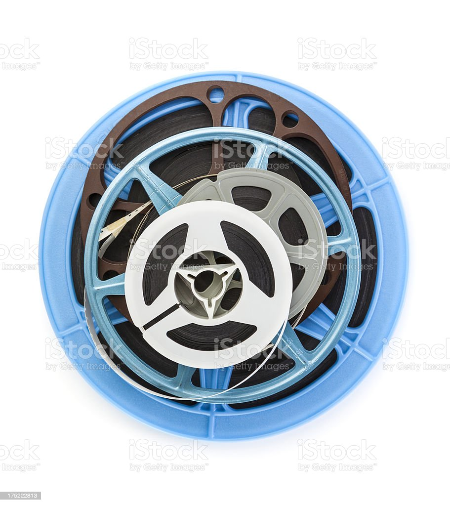 Film Reels royalty-free stock photo